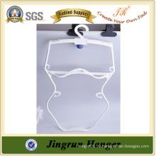 2015 Новый дизайн Белый пластиковый вешалка для купальников