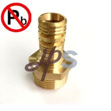 NSF free lead brass pex coupling for water