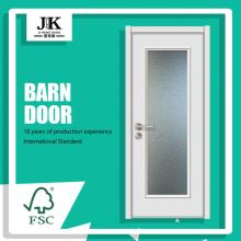 JHK-Fancy Glass Door MDF Panel Garage Glass Door