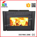 Cold rolled steel CE Certificate Wood Burning Fireplace