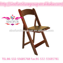 outdoor party rental folding wood beach chair