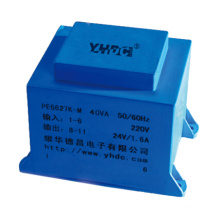 40VA 220V 230V 110V PCB mounting step down ac transformer