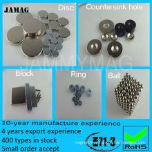Fabricante de ímã permanente CE e ROHS Quality Choice