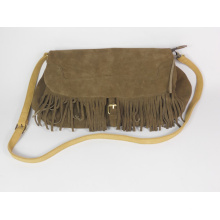 Guangzhou Wholesale Designer Tassels Leather Women Cross Body Bags (155)