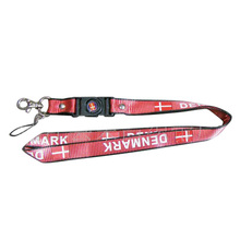 Polyester Lanyard with Satin Lanyard