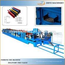 C Sección Rodillo Fría de Purlin que forma la máquina