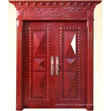 Klassische Doppeltür mit Carving