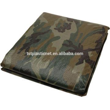полиэтиленовые непромокаемые поставщик камуфляж окрашенный брезент кемпинг