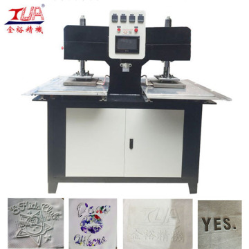 Silicone Embossing Machines On Skirt And Dress