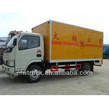 Dongfeng 4 * 2 Equipo de voladura Camión de transporte