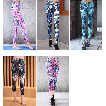 China Supplier Sexy High Elasticity Yoga Womens 2016 Sublimated