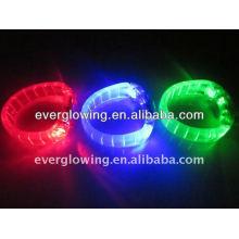 Pulseira de luz LED venda quente 2016