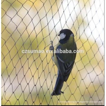 Nueva red de aves de alta calidad que viene de 10 mm de malla de 2 m de ancho