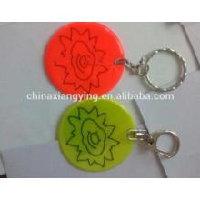 Promotion Reflective Key Chain, Soft PVC Key Chain Custom, , Reflect Craft Sticker Custom