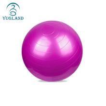 yugland wholesale custom printed logo pilates exercises pvc yoga ball 55cm