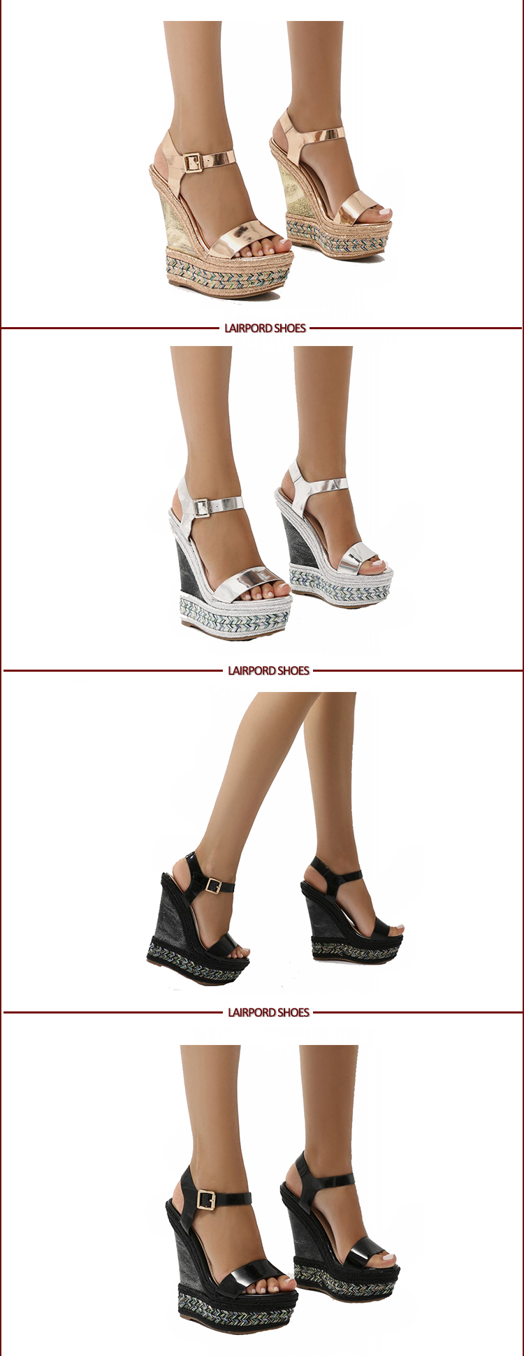new style wedges