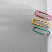 Bon effet visuel Tissu d'écran de projection en fibre de verre en métal 3D