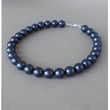7 '' Simple Stretch Tahitian Pearl Gelang