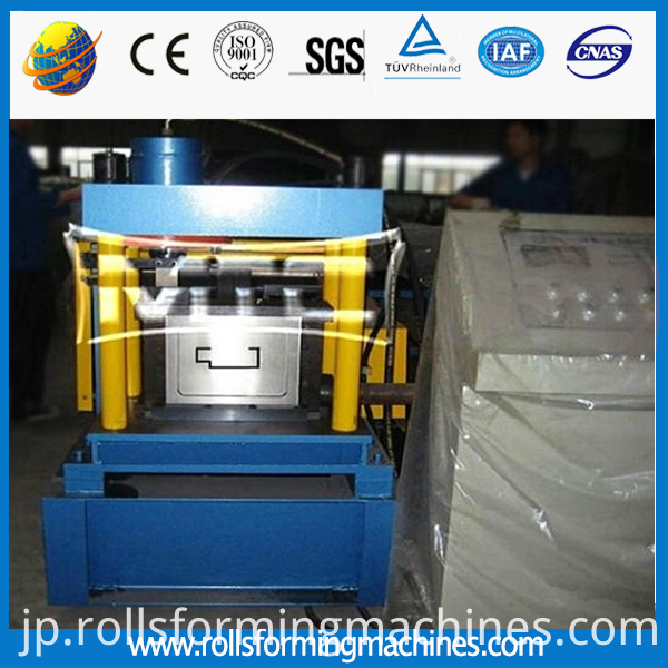 Galvanized Steel Door Frame Roll Forming Machine