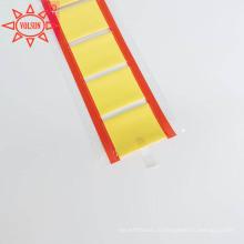 Желтый Термоусадочные Кабельные Идентификационный Маркер Этикетки