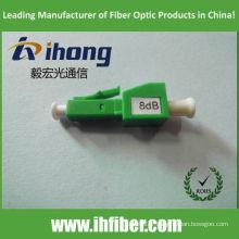 LC APC atténuateur fibre optique femelle masculin à 8dB
