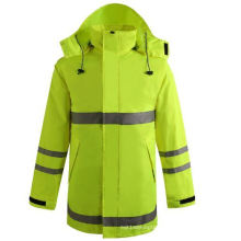 Hiviz High Visibility Waterproof Winter Jacket Parka (msj1015)