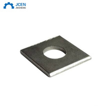 Custom metal galvanized square hole washers