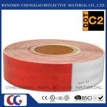 High Quality DOT-C2 Micro Prism Reflective Tape for Vehicle Conspicuity (C5700-B(D))