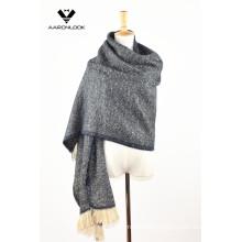 Lady′s Fashion Winter Checked Shawl Wrap