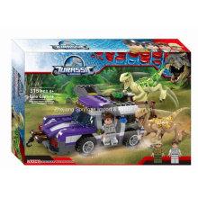 Boutique Baustein Spielzeug für Jurassic Legend Dinosaurier Flucht 04
