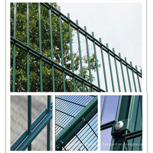 PVC-Beschichtung Doppel-Fechten für Haus / Straße / Spielplatz / Garten / Gebäude / Constuction