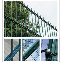 ПВХ-покрытие Двойное ограждение для дома / дороги / игровой площадки / сада / здания / сооружения