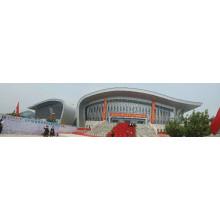 Caliente-DIP galvanizado Arched curvado edificio de la estructura del techo