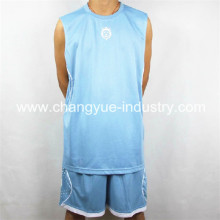 mesh basketball uniform with dry fit high quality