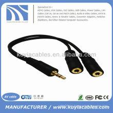 Doble conector para auriculares