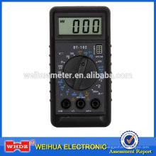 Карманный цифровой мультиметр DT182 с батареей тестов