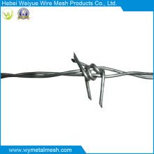 Fil de fer barbelé à double ligne pour clôture
