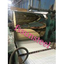 miroir à bobines de couleur inox GOLD PVD