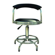 Chaise pivotante pneumatique avec laboratoire de roulettes