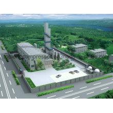 Para la planta de Lox Ln2 Criogénico Generador de Nitrógeno Líquido Generaotr de oxígeno
