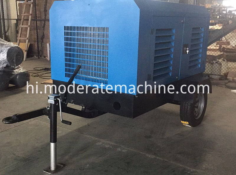 36kw Diesel Screw Air Compressor