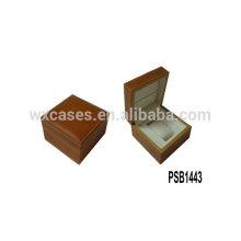 boîte de montre en cuir de haute qualité pour la seule montre de l'usine de la Chine