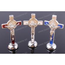 Religiöse Legierungs-Jesus-Statue, religiöse Kreuz-Statue-Geschenke