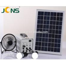 China Manufatura NOVA ENERGIA Armazenamento 100 watts Solar Power Kit para Casa e Camping