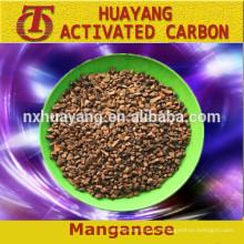 Alto contenido de carbono y ferro manganeso