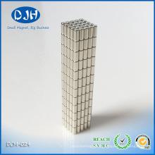 Diâmetro do ímã 3 * Espessura 6 mm N35 Grau Níquel-Cobre-Níquel Revestido