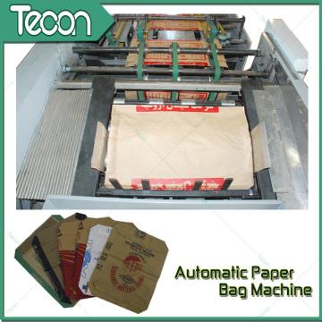 Machine de sac de papier à ciment à bas débit automatique haute vitesse