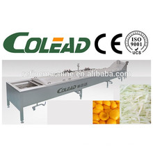 Stem precooking máquina / hoja verduras blanqueador máquina / cocinar vegetal