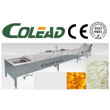 Stem precooking machine/leaf vegetable blanching machine/cooking vegetable