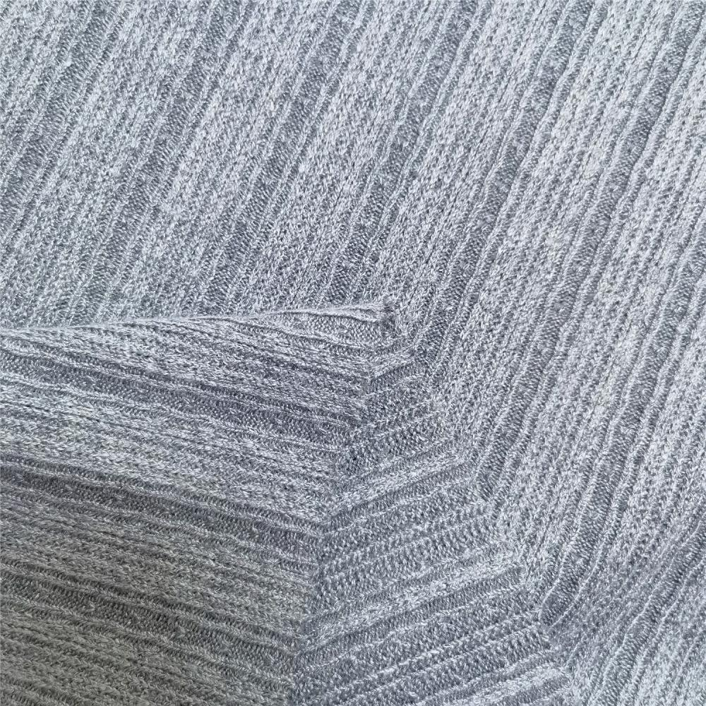 100% Acrylic Garment Knitted Wool Fabric For Sweater